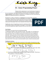 linear programming project-kaleb king eportfolio thing nov 2019
