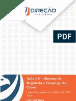 Português - Apostila - Aula 8