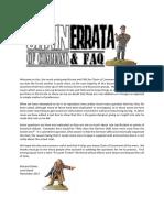 Chain of Command Rules Errata and FAQ