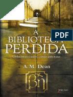 A Biblioteca Perdida - A. M. Dean.pdf