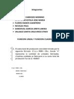 FUNCION LINEAL Y FUNCION CUADRÁTICA.docx