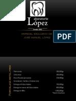 Arancel de José López