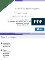 Innovando la Movilidad 2019-nov-05 UCuenca Barros Gabriel
