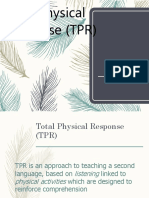 Total Physical Response methode.ppt