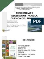Tendencias y escenarios para la cuenca del río Mayo