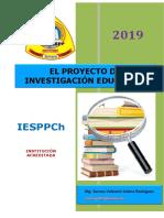 El Proyecto de Investigación Educativa 2019 (2)