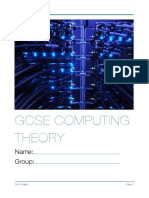 IGCSE Computer Theory Notes & Exercise