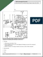 Sistema de Lubricación VW Passat 1.8L