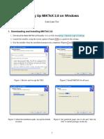 Setting Up MiKTeX 2.8 on Windows