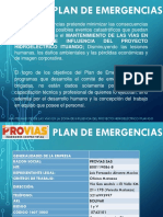 PRESENTACIÓN PLAN DE EMERGENCIAS .pptx