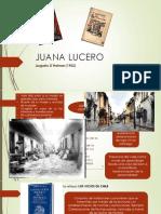 Juana Lucero