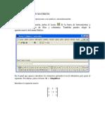 Matrices Derive