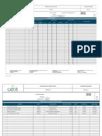 Formatos de Compras y Proveedores Para Informe Semanal