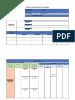 Matriz de Planificacion de Secundaria