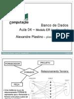 Modelo ER - banco de dados