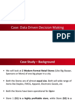 3. Case - Data Driven Decision Making