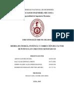 Informe 4 - Circuitos Eléctricos - 2019 II - FIM - UNI