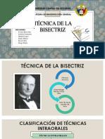 Tecnica de la Bisectriz - Imagenologia