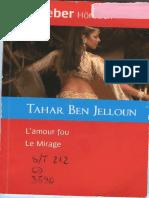 L'Amour Fou Le Mirage Ben_jelloun