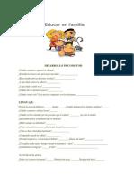 Desarrollo Psicomotor Para Detectar Di en Niños