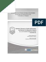 NORMAS TECNICAS COMPLEMENTARIAS DEL DISEÑO ARQUITECTONICO DISCAPACIDAD.pdf