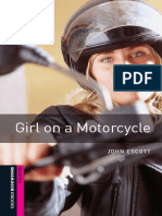 Girl on a Motorcycle_ 250 Headw - John Escott