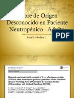Fiebre de origen desconocido en Oncologia