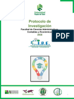 Protocolo para un proyecto de investigación