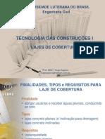 Tecnologia das Construções I - 5 - Lajes Modadas e Premoldadas
