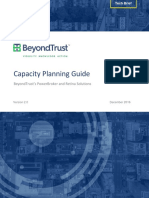 Beyond Trust Capacity Planning Guide