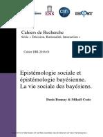 Epistemologie Sociale Et Epistemologie b