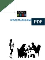 Sawa Server Training Manual