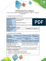 Guía de Actividad y Rúbrica de Evaluación - Fase 5 - Realizar El Proyecto