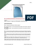 Crochet men vest pattern