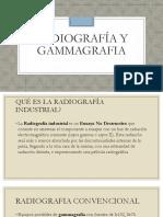 Radiografía y Gammagrafia