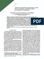 1989 INOUE_CONVENIENT TECHNIQUE FOR ESTIMATING SMECTITE LAYER PERCENTAGE IN RANDOMLY INTERSTRATIFIED ILLITE SMECTITE MINERALS.pdf