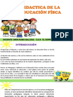 Exposición Didáctica de La Ed. Física