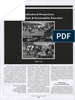 Multicultural Perspectives Through Music & Sustainability Education