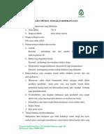 Analisa AFF Infus