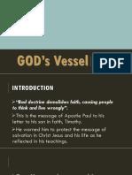 GOD's Vessel