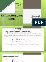 Nmr 2d Hetcor, Hmqc, Hsqc Klp.7