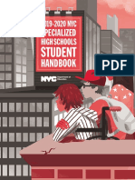 2020 Specialized High School Handbook