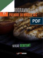 Auteur Inconnu - Alimentation Muscle Sec Debutantpdf
