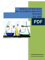 Manual Analitica QI 301