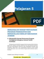Pelajaran 5 Mengenal Konsep Penyusunan Program Peningkatan dan Mengevaluasi Derajat Kebugaran Jasmani.pdf
