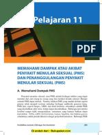 Pelajaran 11 Memahami Dampak atau Akibat Penyakit Menular Seksual (PMS) dan Penanggulangan Penyakit Menular Seksual.pdf