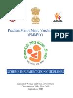 PMMVY Scheme Implemetation Guidelines ._0
