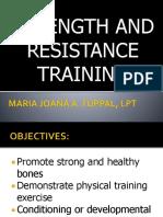 Resistance Training Mj
