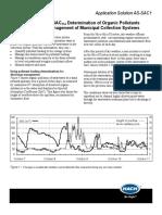 Continuous SAC254 Determination-Organic Pollutants
