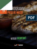 Auteur Inconnu - Alimentation Prise de Masse Debutantpdf